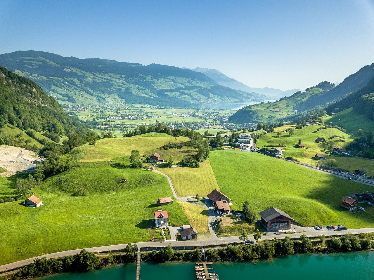 Switzerland Travel Guide Where The Country Stands in Size